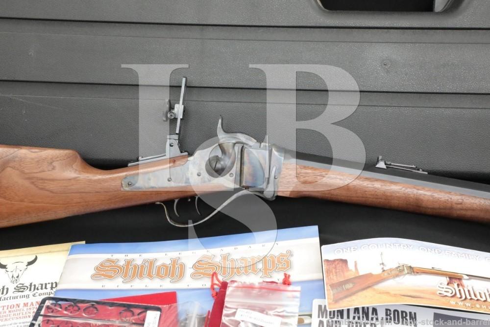 """Shiloh Rifle Mfg. Co. 1874 Sharps 28"""" .45-70 45 2 1/10"""" Single Shot Rifle"""