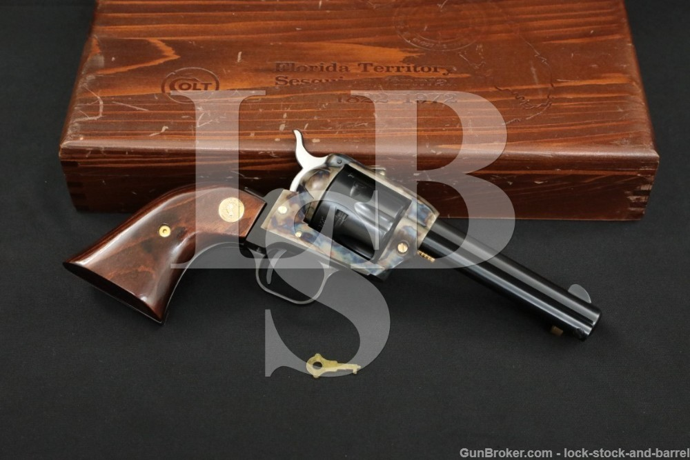Florida Territory Sesquicentennial Colt Frontier Scout .22 LR Revolver, C&R
