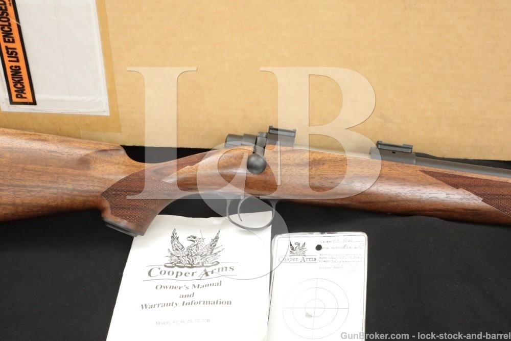 Cooper Firearms Model 22 Classic .25-06 Remington Single Shot Bolt Rifle