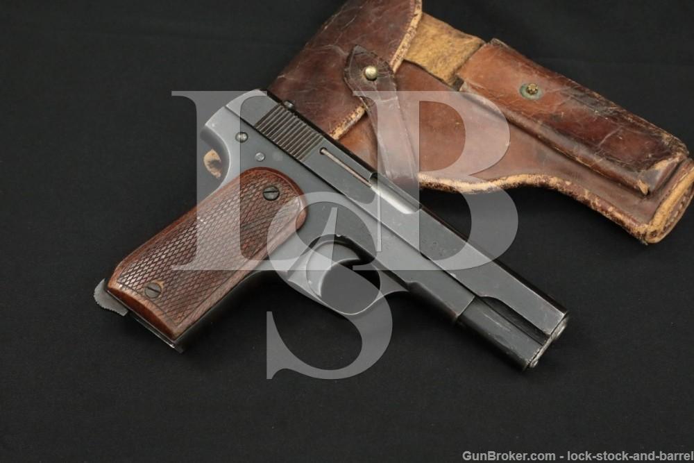 Japanese/Communist Chinese Sugiura Shiki .32 ACP Semi-Automatic Pistol, C&R