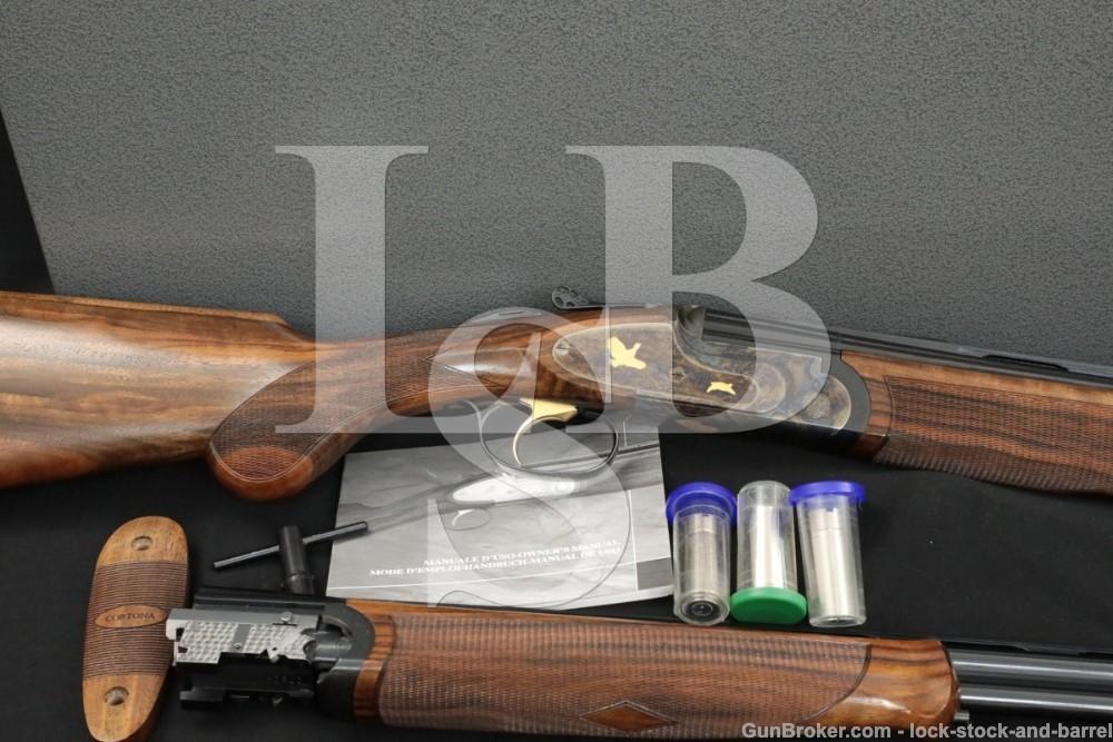 Rizzini Cortona Prestige Kalispel Sub-Gauge O/U Over-Under Shotgun Set 2007