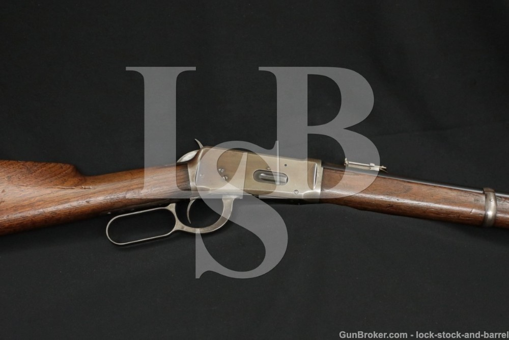 Winchester Model 1894 .30-30 WCF SRC Saddle Ring Carbine, MFD 1886 Antique