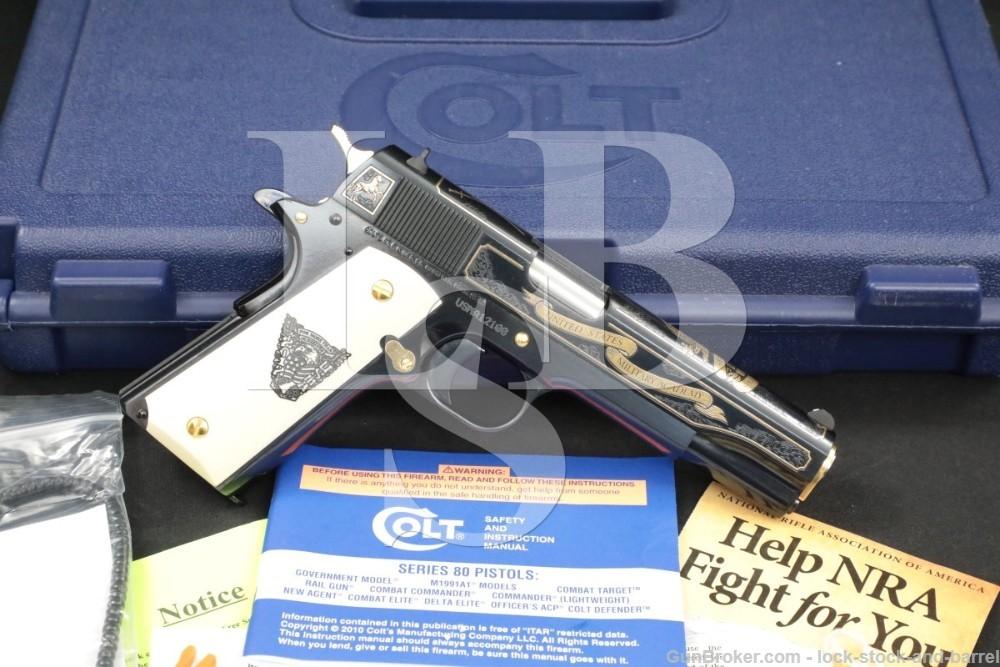"Colt West Point USMA Class of 2012 Model 1991-A1 1911A1 .45 ACP 5"" Pistol"