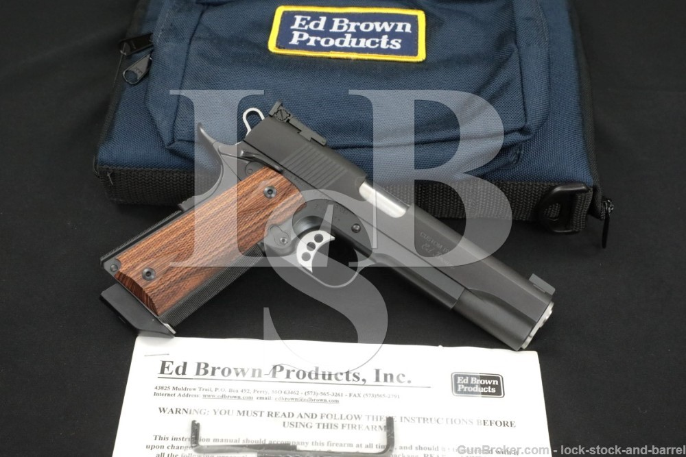 "Ed Brown Products Model Class A Custom .45 ACP 5"" Semi-Automatic Pistol"