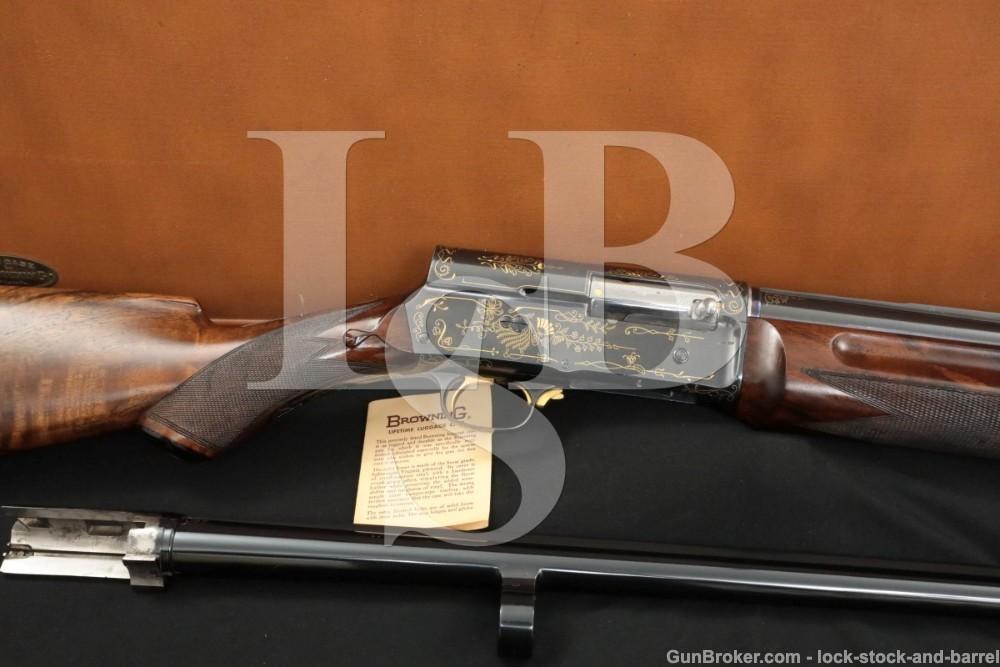 Fabrique Nationale FN Auto-5 A-5 A5 Grade 4 Engraved 16 GA Shotgun 1926 C&R