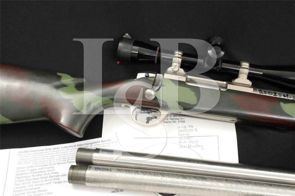 "Dan Dowling Custom Shilen DGA 26"" Hart .22-250 Improved Target Rifle, 1995"