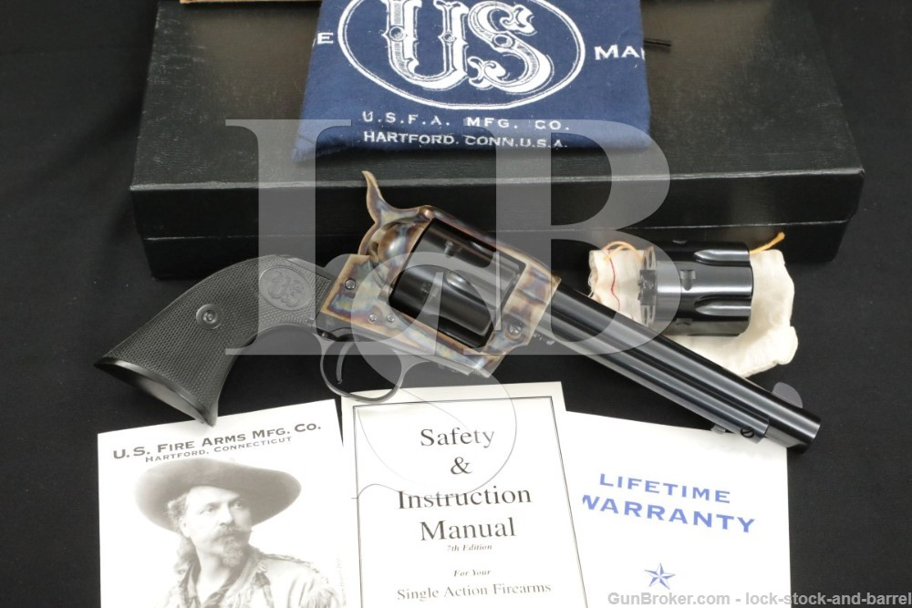 USFA U.S. Firearms Plinker SAA .22 LR/Magnum WMR Single Action Revolver