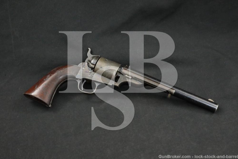 U.S. Cartridge Company Colt's 1871-1872 Open Top Revolver 1872-1873 Antique