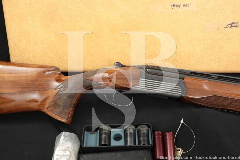 Perazzi MT6 MT-6 Winchester Import 12 GA O/U Over Under Shotgun, MFD 1979