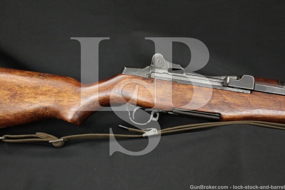 International Harvester IHC M1 M-1 Garand .30-06 Semi-Auto Rifle, 1954 C&R