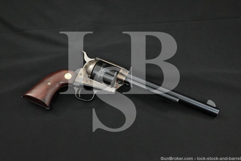 "Colt 3rd Gen. 7 1/2"" .45 LC Single Action Army Revolver 173rd Gun Made 1976"