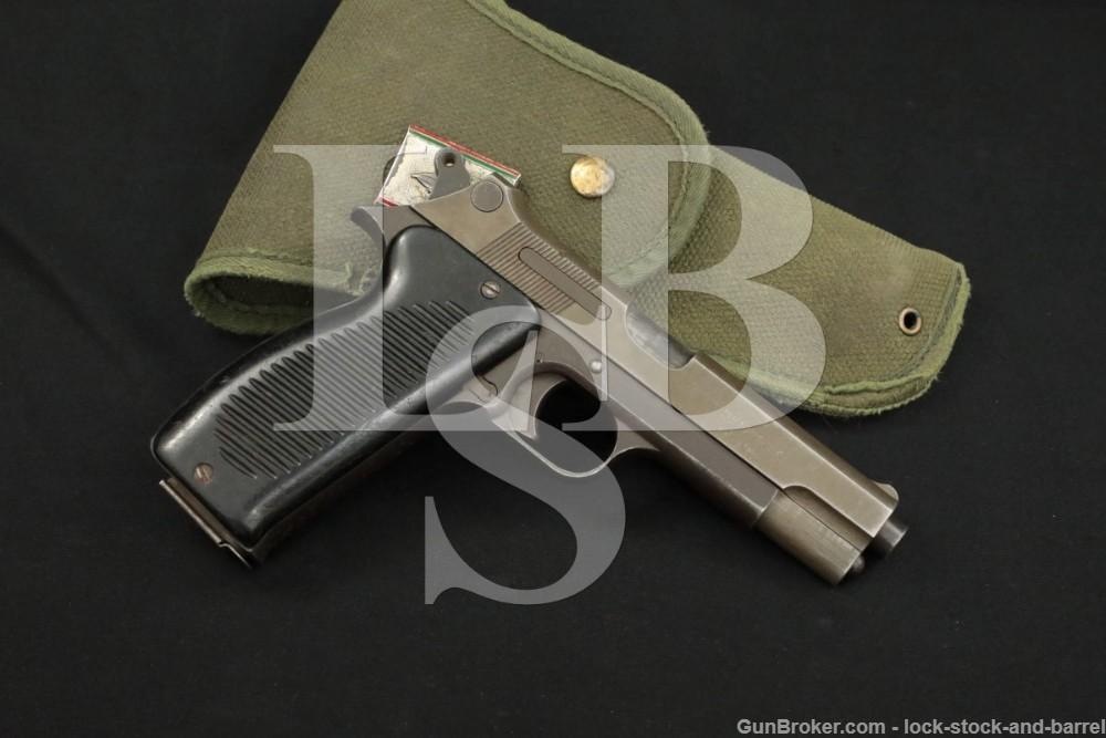 1st 10,000 French MAC Modele 1950 9mm Para Semi-Auto Pistol, 1953-1963 C&R