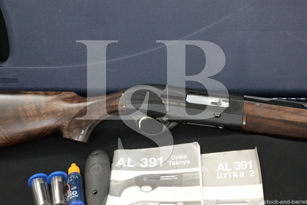 "Beretta Model AL391 AL-391 Urika 2 20 Ga. 24"" Semi Auto Shotgun, MFD 2006"