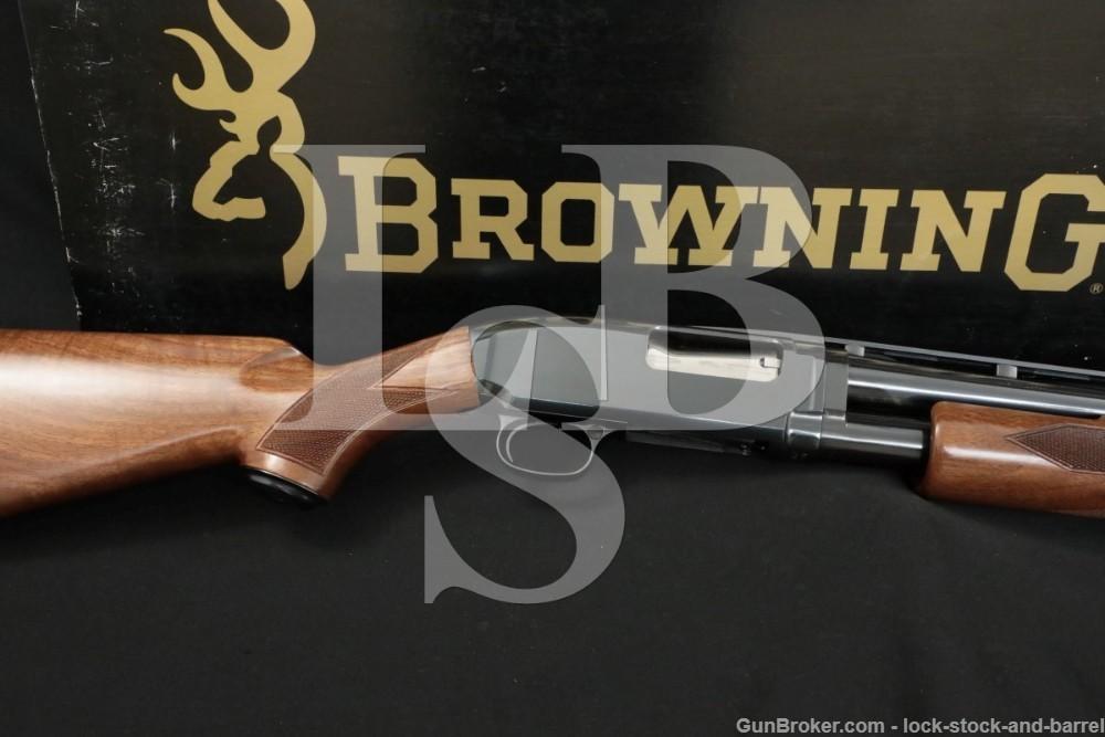 "Browning Miroku Model 12 Grade I 20 Ga. 26"" Pump Action Shotgun, MFD 1989"