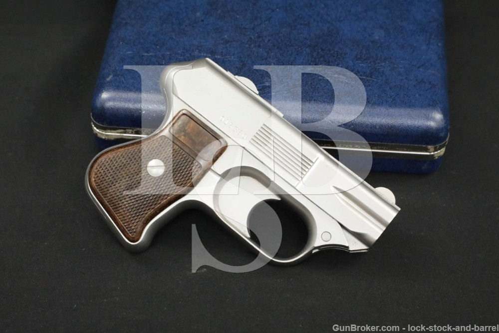 COP SS1 SS-1 Compact Off-Duty Police 4-Shot Stainless .357 Magnum Derringer