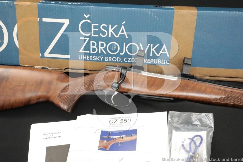 CZ-USA Model 550 .308 Winchester 20.5″ Mannlicher Style Bolt Rifle MFD 2002
