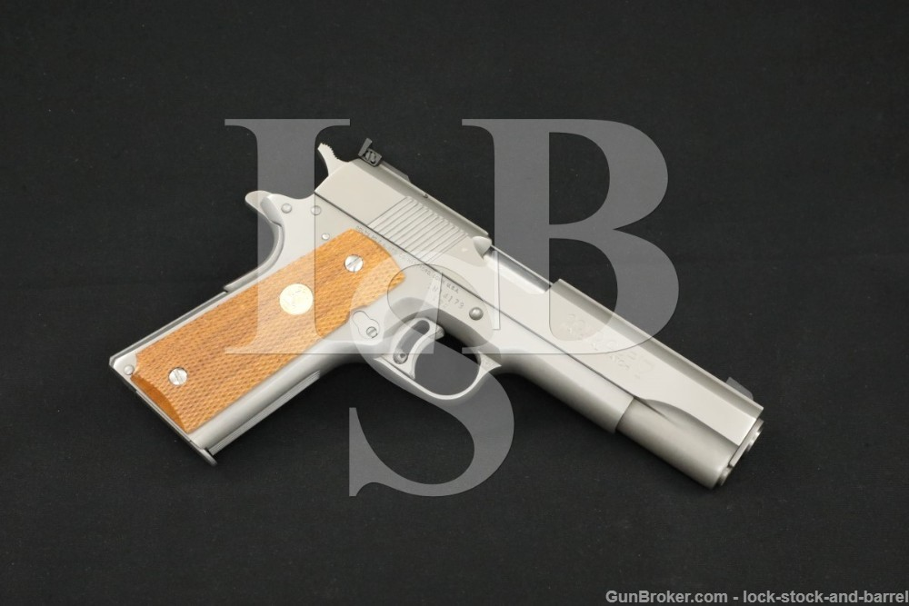 Colt 1911 Gold Cup National Match .45 ACP Semi Auto Pistol C&R German Proof