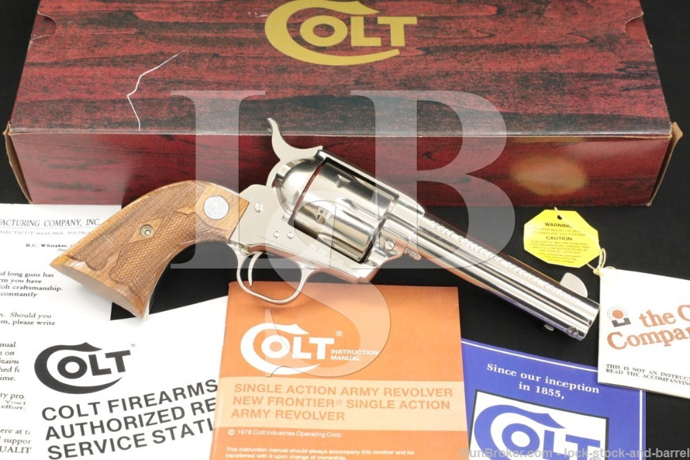 Colt Collector Special Edition Frontier Six Shooter 70 of 250 Revolver 1983