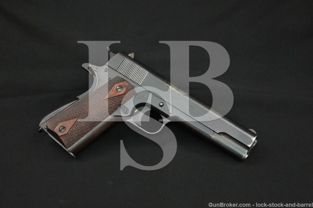 Colt Commercial Government Model 1911 .45 ACP Semi-Auto Pistol, 1917 C&R