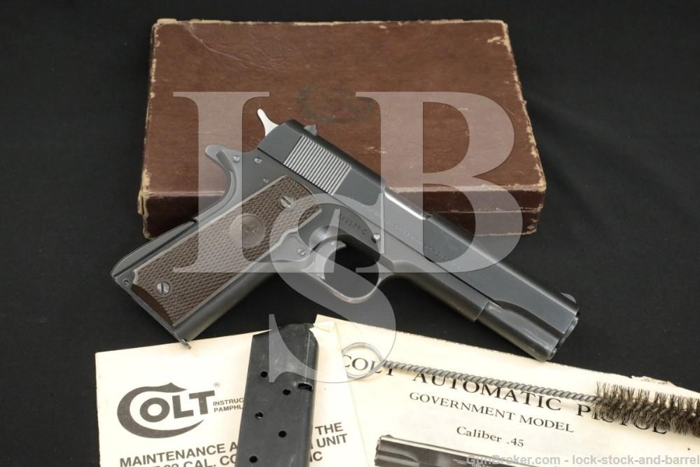 Colt Commercial Government Model 1911 .45 ACP Semi-Auto Pistol, 1951 C&R