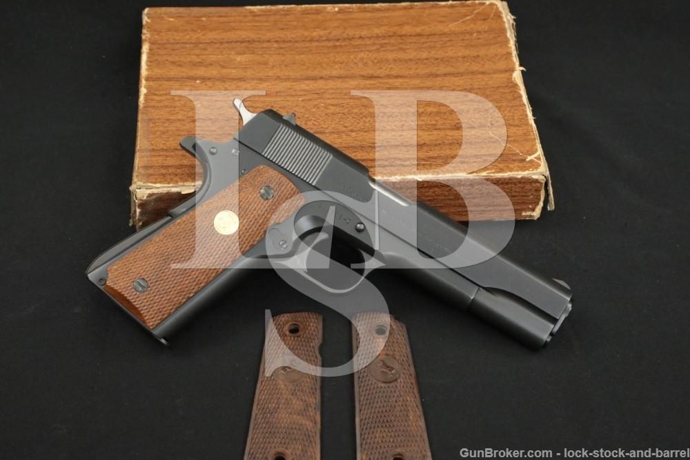 Colt Commercial Government Model 1911 .45 ACP Semi-Auto Pistol, 1963 C&R