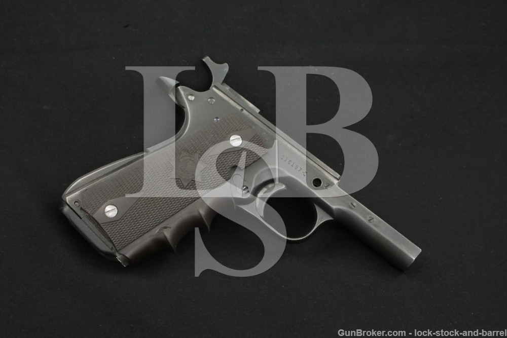 Colt Commercial Government Model 1911 Semi-Automatic Pistol Frame Only