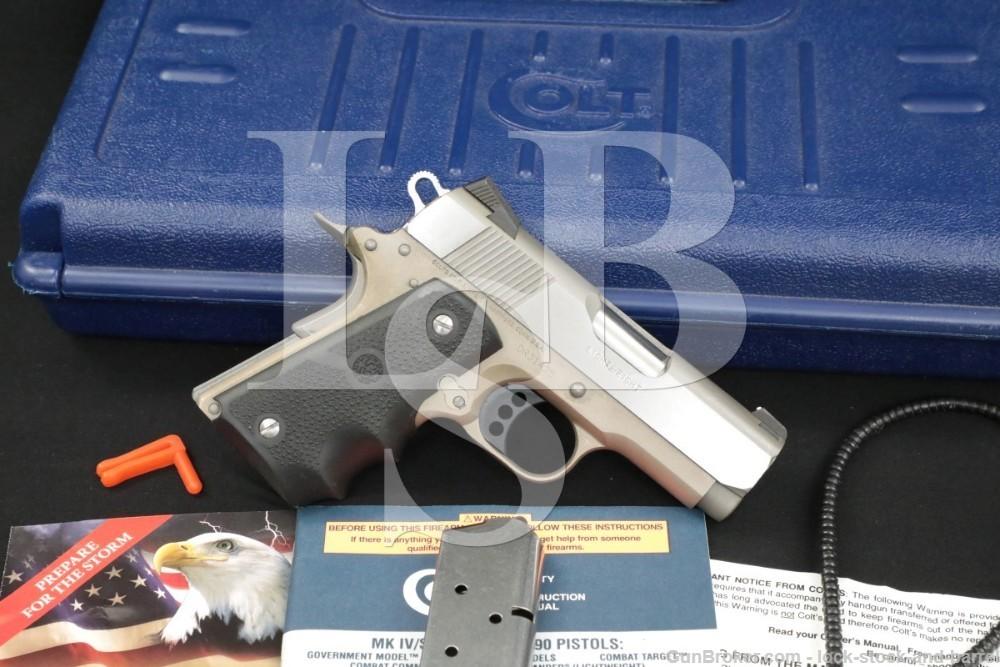 Colt Defender Lightweight Series 90 .45 ACP Semi Automatic Pistol MFD 2007