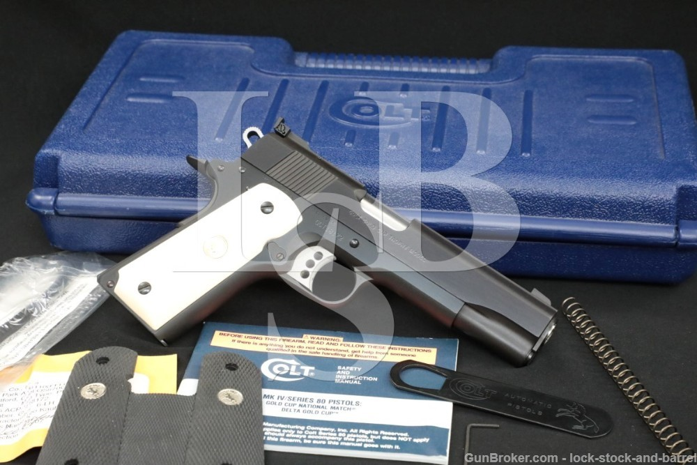 Colt Gold Cup Trophy 05870CS 1911 .45 ACP Semi-Automatic Pistol, MFD 2007