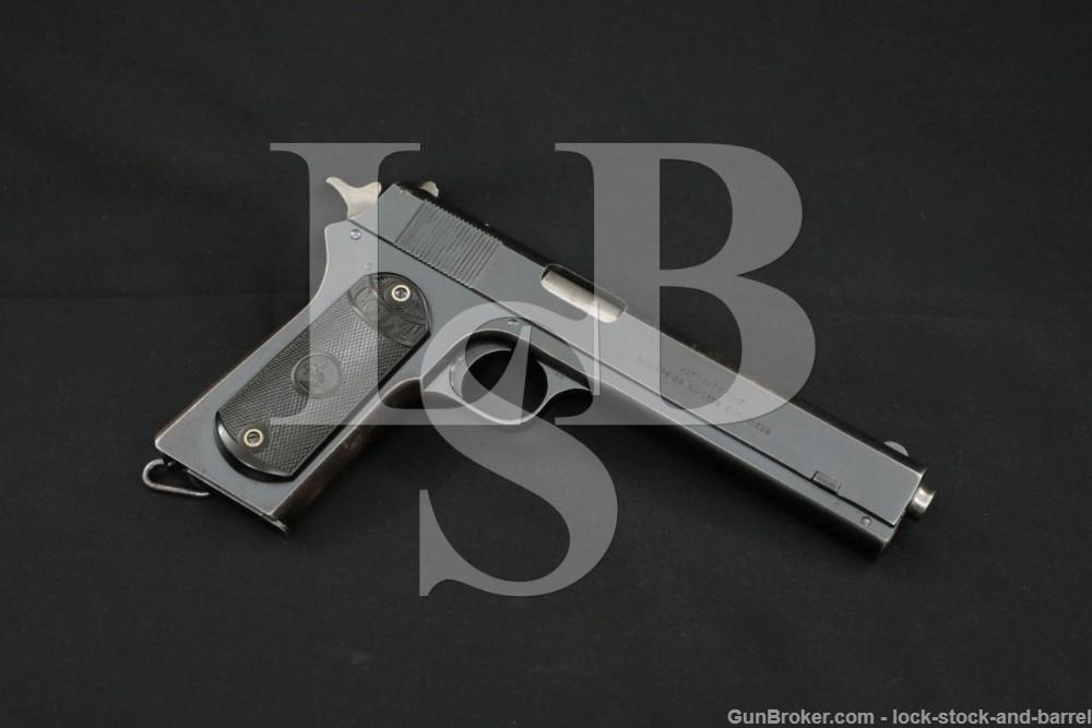 Colt Model 1902 Military .38 ACP Rimless Semi-Automatic Pistol, 1920 C&R