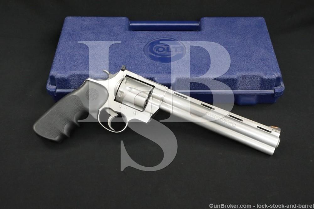 "Colt Model Anaconda .44 Magnum 8"" Double Action Revolver & Box MFD 2006"