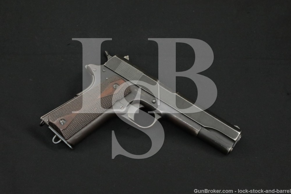 Colt Model of 1911 U.S./1911A1 Slide .45 ACP Semi-Automatic Pistol 1919 C&R