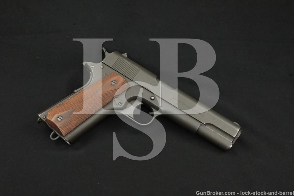 Colt Model of 1911 U.S. Army Augusta .45 ACP Semi-Automatic Pistol 1918 C&R