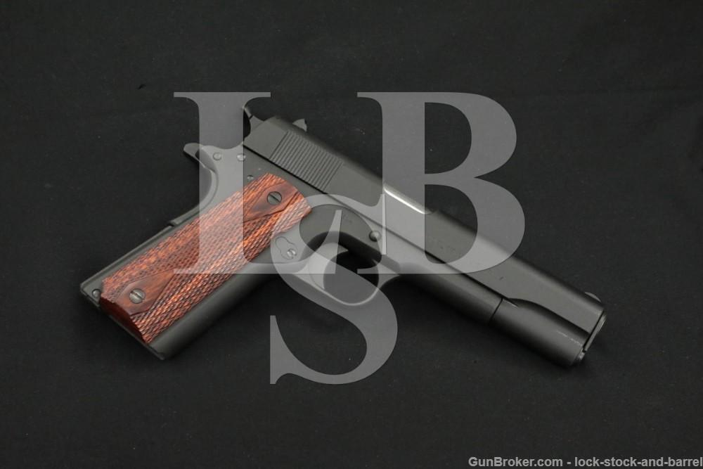 Colt Model of 1911 U.S. Army Augusta Arsenal .45 ACP Semi-Auto Pistol, 1918