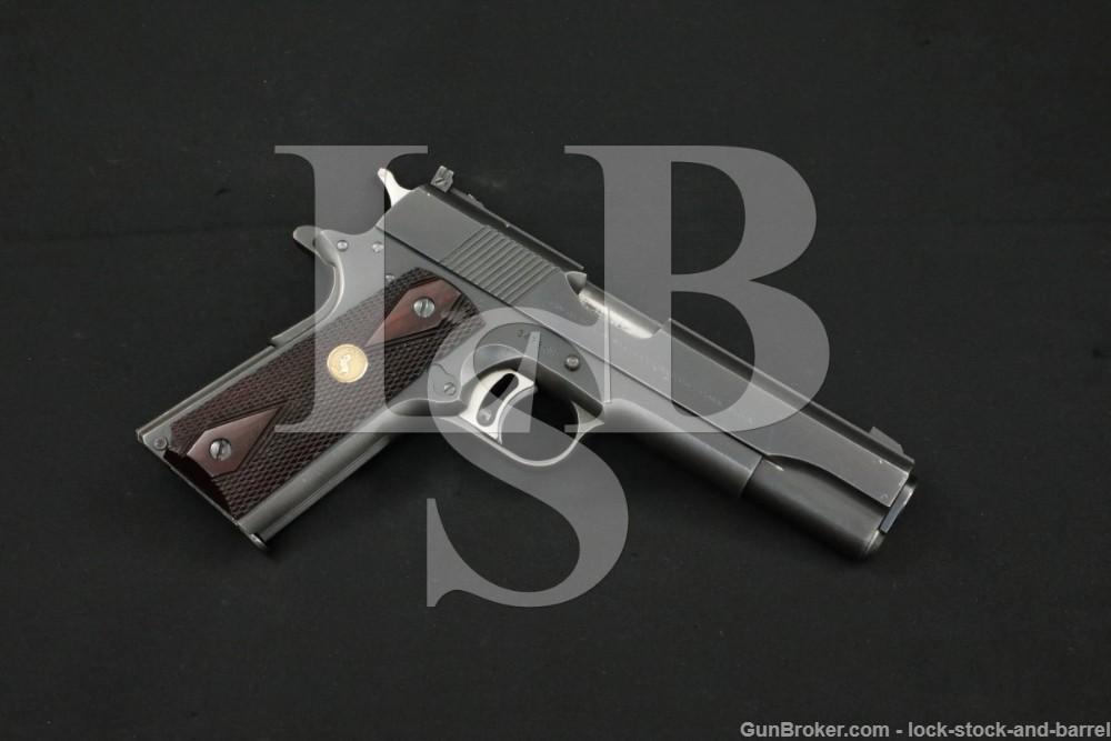 Colt Pre-Gold Cup National Match 1911 .45 ACP Semi-Auto Pistol, 1958 C&R
