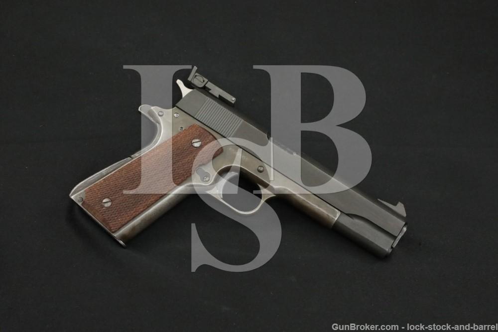 Colt/Union Switch & Signal 1911/A1 .45 ACP Semi-Auto Pistol, 1918/1943 C&R