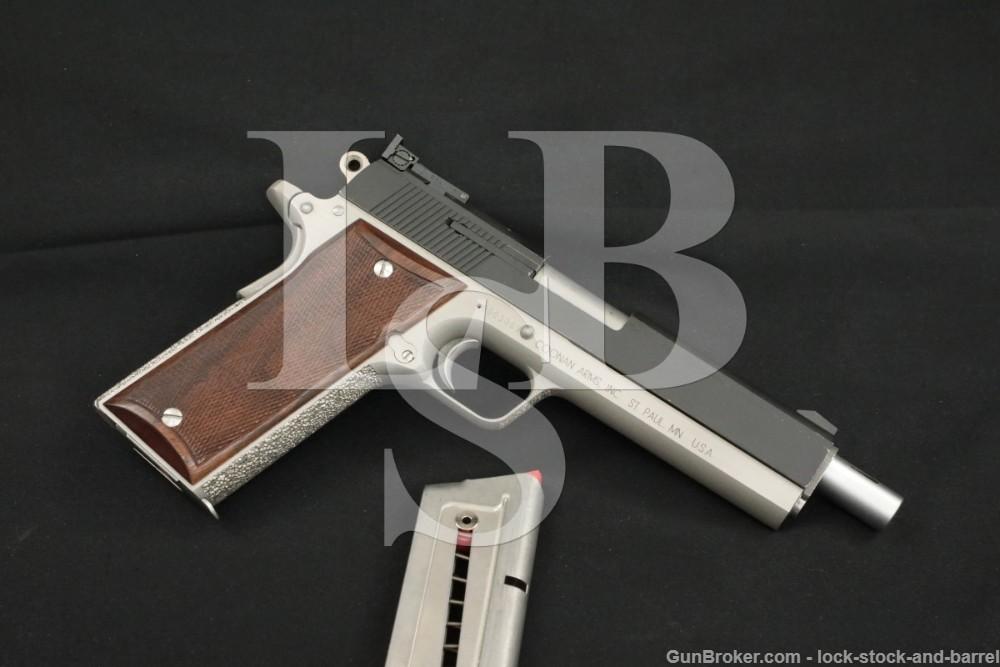"""Coonan Arms .357 Magnum Model B 6"""" Magna Port Semi-Auto Pistol"""