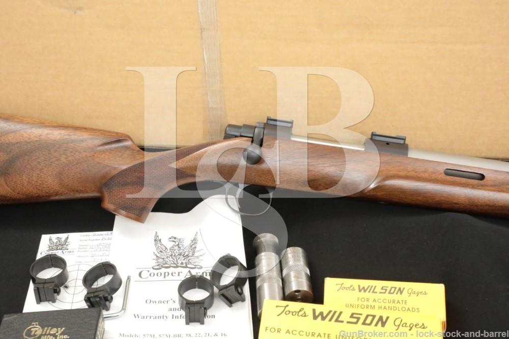 "Cooper Firearms Model 22 Montana Varminter 6mmBR 24"" Single Shot Rifle 2005"