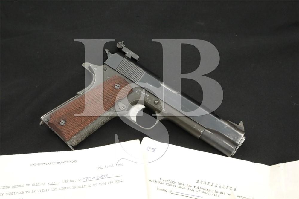 Custom Colt 1911 RIA/FK Frame National Match Parts .45 ACP Semi-Auto Pistol
