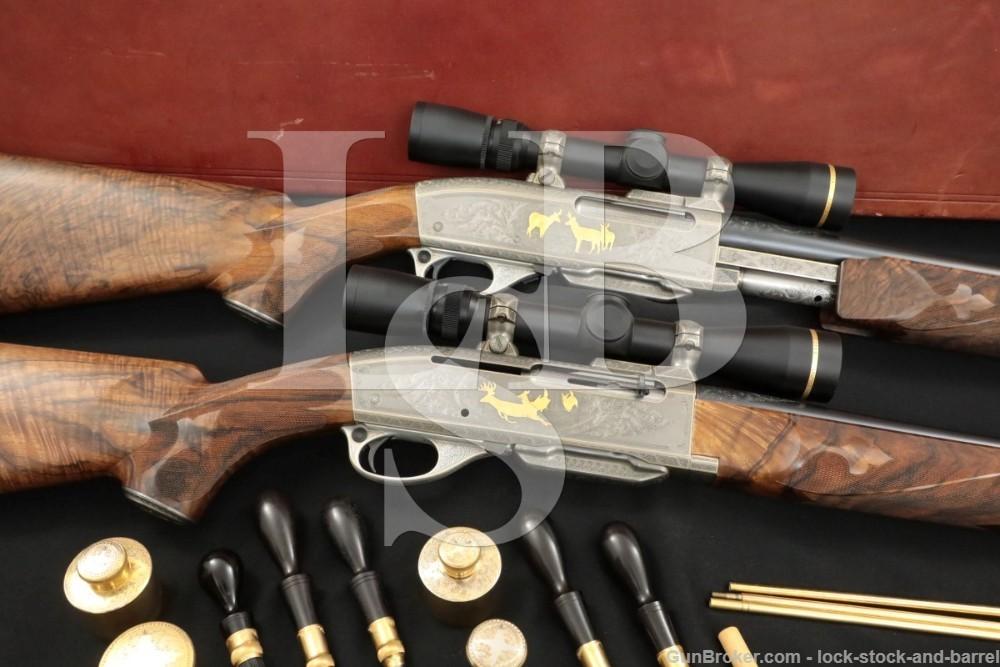 Custom Remington 742 Woodsmaster 760 Gamemaster .270 Winchester Rifle Set
