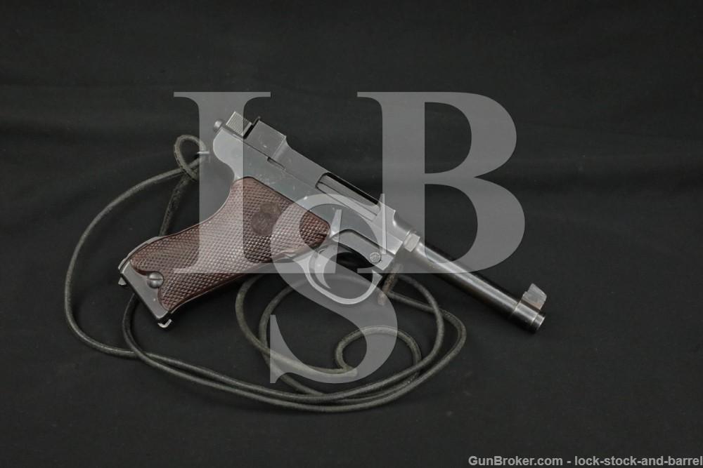 Danish Denmark Husqvarna Lahti M40 M/40S 9mm Semi-Automatic Pistol 1945 C&R