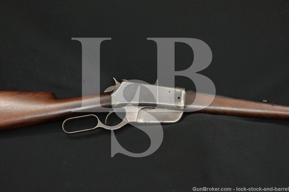 Early 1st Year 3-Digit Winchester Model 1895 .30 U.S. Lever Rifle, Antique