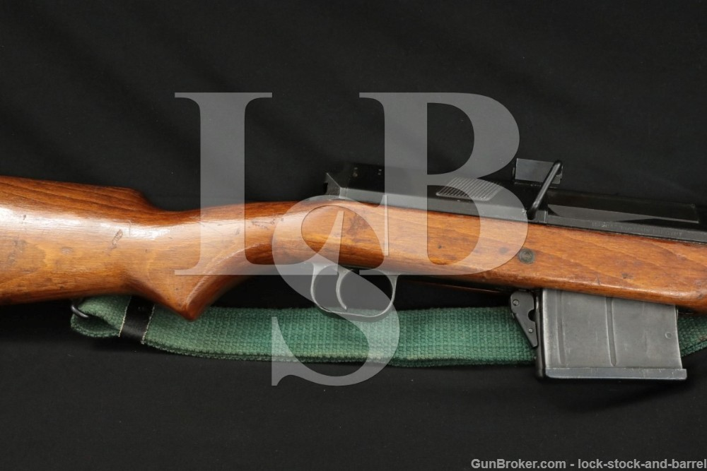 Egyptian Hakim Hakeem 8mm Mauser Muzzle Brake Semi Automatic Rifle C&R