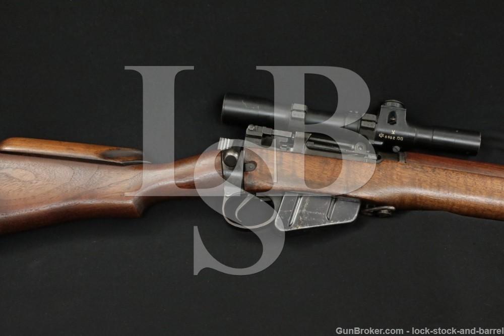 Enfield No4 MkI T Sniper Rifle No 32 Scope 303 British Bolt Action C&R