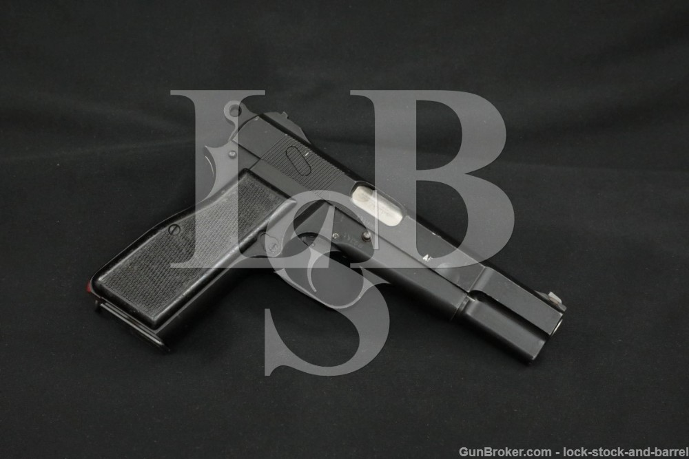 Inglis No. 2 MK. I* MKI* Hi Power 9mm Luger Semi-Auto Pistol, 1944-1952 C&R