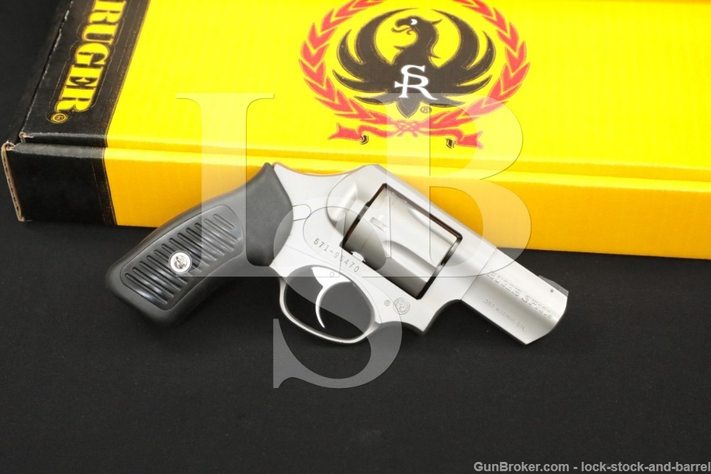 """Jack Weigand Tame the Beast Ruger SP101 2.25"""" Custom DAO Revolver, Box 1994"""