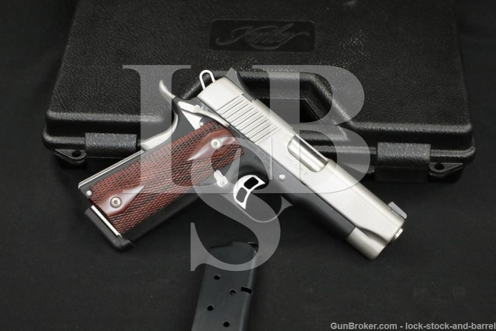 Kimber Custom Shop Model Pro CDP II 2 .45 ACP 4″ 1911 Semi-Auto Pistol