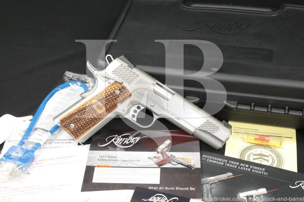 "Kimber Custom Shop Stainless Raptor II .45 ACP 5"" Semi-Automatic Pistol"