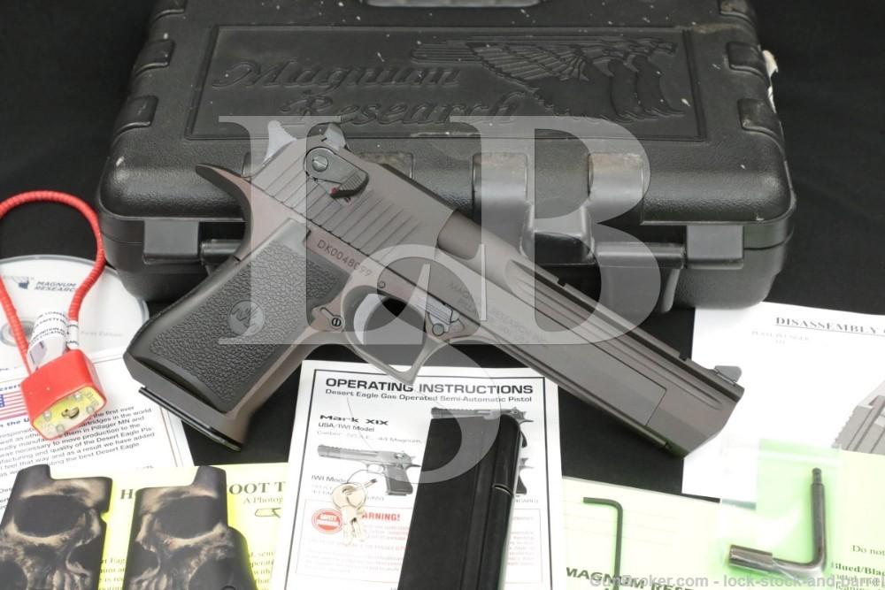 Magnum Research Desert Eagle MK XIX DE44CA .44 Mag 6″ Semi-Automatic Pistol