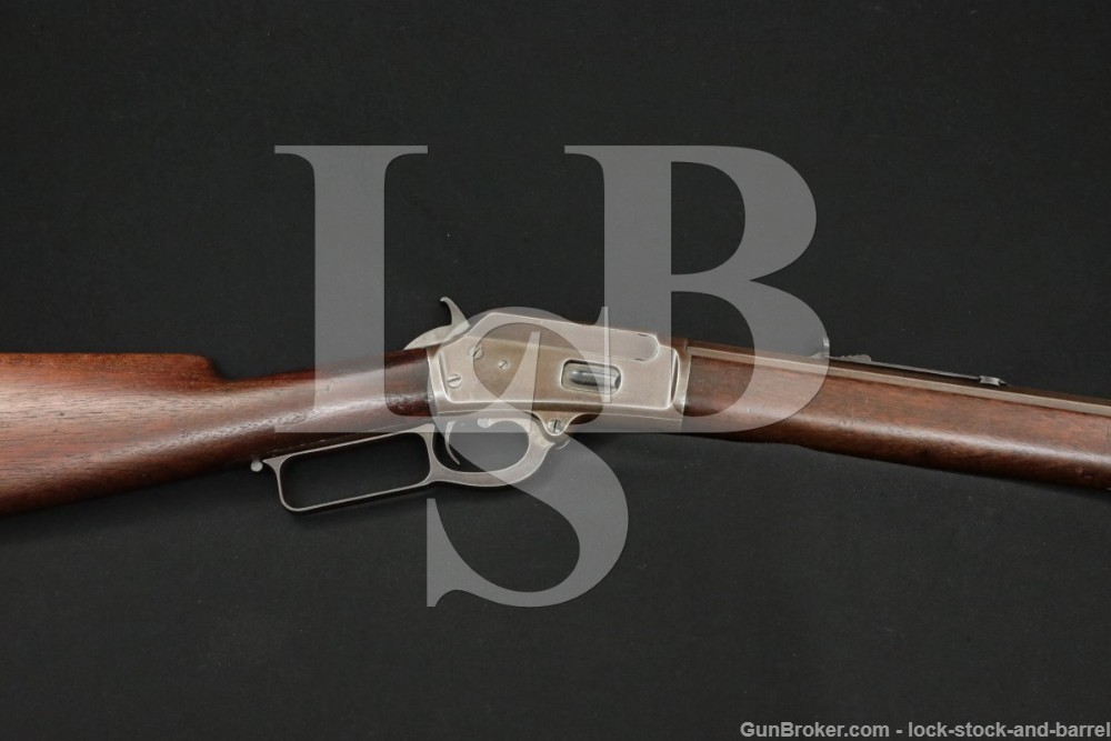 Marlin Firearms Co. Model 1889 .38-40 Winchester Lever Rifle, 1890 Antique