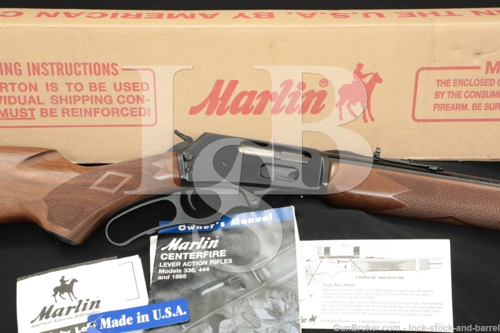 "Marlin Firearms Co. Model 338MX 338-MX 338 Express 22"" JM Lever Rifle, 2009"
